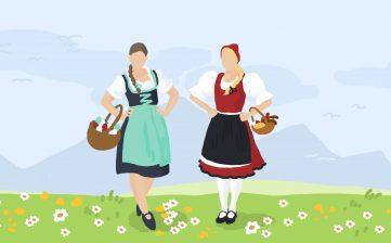 (Slovenčina) Veľkonočné sviatky u nás a u rakúskych susedov